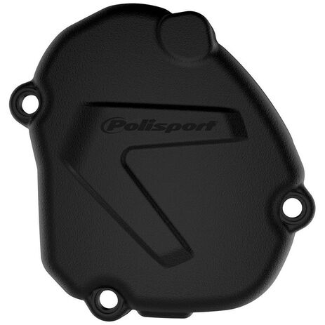 _Ignition Cover Protector Polisport Yamaha YZ 125 05-18 Black | 8464400001 | Greenland MX_