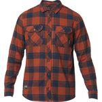 _Fox Traildust Flannel Shirt Adobe | 23826-291 | Greenland MX_