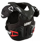 _Leatt Fusion 2.0 Neck Support Youth Black/White | LB1018010000-P | Greenland MX_