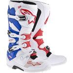 _Alpinestars Tech 7 Boots White/Blue/Red | 2012014-273-P | Greenland MX_