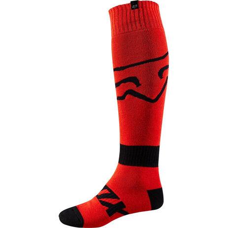 _Fox Fri Thin Race Sock Red | 19999-003-P | Greenland MX_