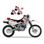 _Original Graphic Kit Blackbird Honda XR 250/400 96-04 | 2105 | Greenland MX_