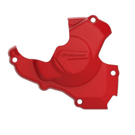 _Honda CRF 450 R 11-16 Ignition Cover Protector Polisport Red | 8461200002 | Greenland MX_