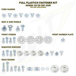 _Honda CR 125/250 R 00-07 CRF 450 R 00-04 Full Plastics Fastener Kits | BO-HON-0007124 | Greenland MX_