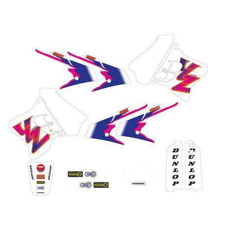 _Tecnosel Sticker Kit Replica Team Yamaha 1993 YZ 125/250 93-95   22V01   Greenland MX_