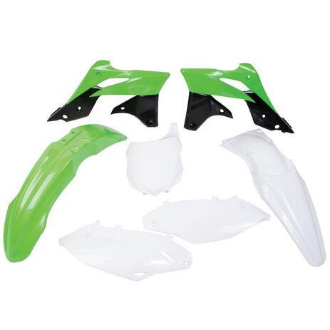 _Polisport Kawasaki KX 250 F 13-15 Plastic Kit OEM 14/15   90625   Greenland MX_