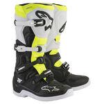 _Alpinestars Tech 3S Kids Boots Black/White/Yellow Fluo | 2014018-125-P | Greenland MX_