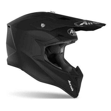 _Airoh Wraap Helmet Black Matt   WR11   Greenland MX_