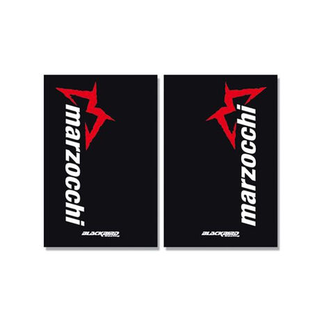 _Fork Crystall Stickers Marzocchi Black | 5015M | Greenland MX_