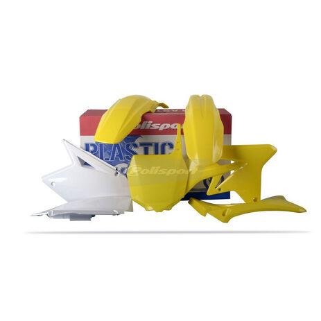 _Polisport Suzuki RMZ 250 07-09 Plastic Kit | 90123 | Greenland MX_