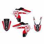 _Graphic Kit Blackbird Dream 4 Husqvarna WR 250/300 06-13 CR/WR 125 06-08 | 2609N-01 | Greenland MX_