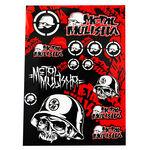 _4MX Assorted Stickers Metal Mulisha | 01KITA607 | Greenland MX_