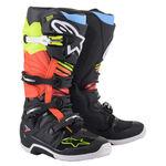 _Alpinestars Tech 7 Boots Black/ Yelloww Fluo   2012014-1538   Greenland MX_