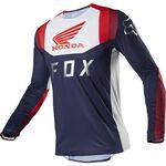 _Fox Flexair Honda Jersey Navy/Red | 23912-248 | Greenland MX_