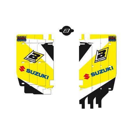 _Blackbird Suzuki RMZ 250 10-18 Rad Louver Decals | A302E | Greenland MX_