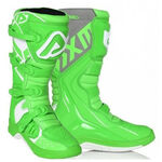 _Acerbis X-Team Boots Green/White | 0022999.371 | Greenland MX_