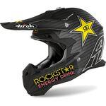 _Airoh Terminator Open Vision Rockstar Helmet 2020 Matt | TOVRK235-P | Greenland MX_