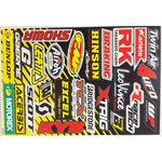 _Blackbird logo sticker kit Sponsors | 5076A | Greenland MX_