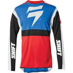 _Shift 3Lack Label Race Jersey Blue/Red | 24142-149 | Greenland MX_