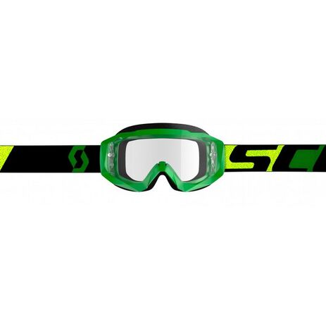 _Scott Hustle X MX Goggles Green/Black | 2681831089113-P | Greenland MX_