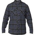 _Fox Traildust Flannel Shirt Midnight | 23826-329 | Greenland MX_
