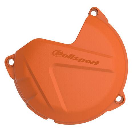_KTM SX 250 12-16 SX 300 13-16 EXC 250/300 13-16 Clutch Cover Protection Orange | 8460200002 | Greenland MX_