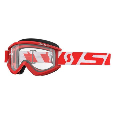 _Scott Recoil XI Goggles Red/White | 2625961005 | Greenland MX_