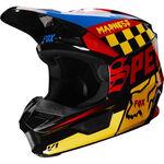 _Fox V1 Czar Helmet | 21778-019-P | Greenland MX_