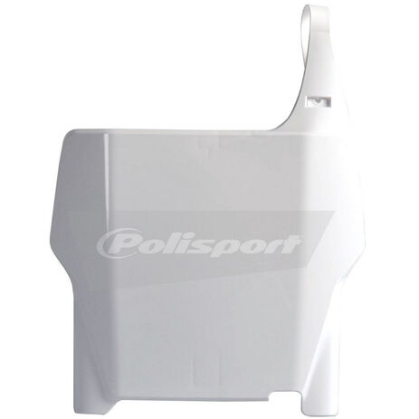 _Polisport CR 125/250 04-07 CR 250/450 F 04-07 Front Plate White   8661900001   Greenland MX_