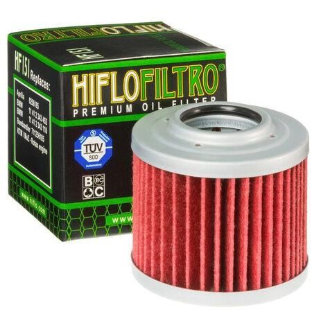 _Hiflofiltro BMW G650 GS 09-15 Oil Filter   HF151   Greenland MX_