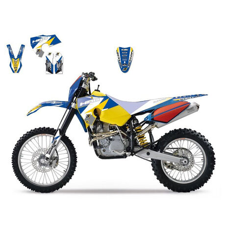 _Blackbird Graphic Kit Dream 3 Husaberg FE/FS 06-08 | 2702E | Greenland MX_