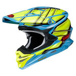 _Shoei Helmet VFX-WR Glaive TC-2 | VFXWRGTC20 | Greenland MX_
