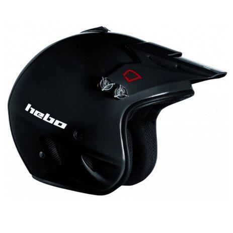 _Hebo Zone PolycarbonateTrial Helmet Black   HC1100N   Greenland MX_