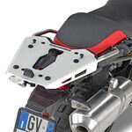_Givi Specific Rear Rack in Aluminium for Monokey Case  BMW F 750/850 GS 18-.. | SRA5127 | Greenland MX_