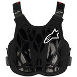 _Alpinestars A-8 Light Chest Protector Youth Black/White/Red | 6740014-123-TU | Greenland MX_