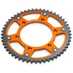 _Steel Rear Sprocket KTM EXC/SX Orange | 584100510-P | Greenland MX_