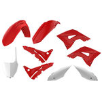 _Polisport MX Restyling Honda CR 125/250 02-07 Plastic Kit OEM | 90772-P | Greenland MX_