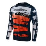 _Troy Lee Designs GP Brushed Youth Jersey Navy/Orange   309275001-P   Greenland MX_