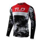 _Troy Lee Designs Ultra SE Jersey Black/Red | 354893002-P | Greenland MX_