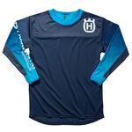 _Husqvarna Gotland 2019 Shirt Blue | 3HS1923200 | Greenland MX_