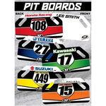 _Tj kawasaki racing pit board | TJBANKW | Greenland MX_