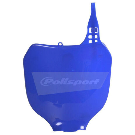 _Polisport yz 125/250 00-04 yzf 250 01-04 yzf 450 03-04 front plate blue | 8658000003 | Greenland MX_