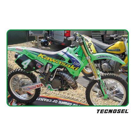 _Tecnosel Sticker Kit Replica Team Kawasaki 1998 KX 125/250 94-98 | 24V02 | Greenland MX_