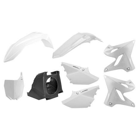 _Polisport MX Restyling Yamaha YZ 125/250 02-14 to 15-18 Plastic Kit White   90717   Greenland MX_