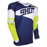_Shot Contact Infinite 2018 Jersey Blue/White/Yellow | A0D-12B1-A04 | Greenland MX_