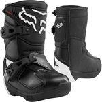 _Fox Comp K Kids Boots Black | 24015-001 | Greenland MX_