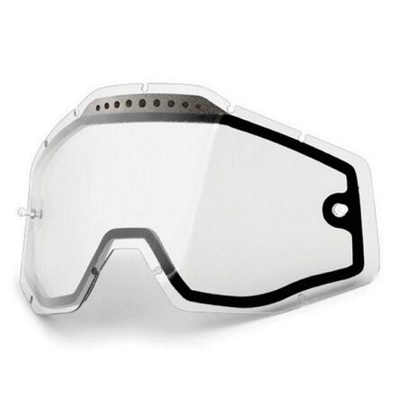 _100% Racecraft/Accuri/Strata Vented Clear Lens | 51006-010 | Greenland MX_