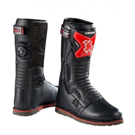 _Hebo Tech Comp Trial Boots Black | HT1020N | Greenland MX_