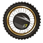 _Blackbird Rear/Front Brake Disc Protectors Kit Black | BKBR-5082 | Greenland MX_
