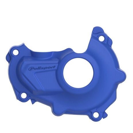 _Yamaha YZ 450 F 14-17 Ignition Cover Protector Polisport Blue | 8460700002 | Greenland MX_